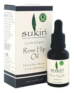 Sukin Rose Hip Oil, 0.85 Fluid Ounce