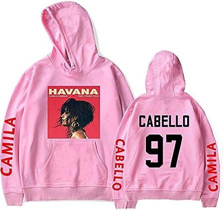 KONLOO Unisex Loose Hoodie, Never Be The Same Tour-Camila Cabello Hoodie