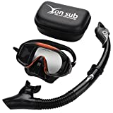 Best Diving Masks - Silicone Adult Diving Swimming Mask Set, Anti-Fog Professional Review