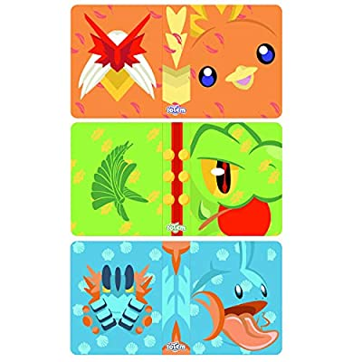 Totem World 3 Mini Album for Pokemon Cards - Each Mini Binder Album Holds 60 Cards - Top Load Sleeves Included - Protect Your Deck in Style - Inspired by Treecko, Torchic, and Mudkip: Toys & Games