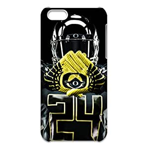 Oregon Ducks Design Nupro Lightweight Protective Case for 3D iPhone 5C