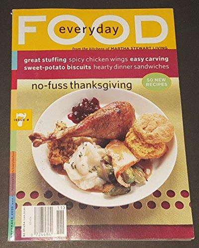EVERYDAY FOOD Issue #7, November 2003 (BACK ISSUE MAGAZINE)