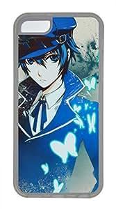 iPhone 5c case, Cute Anime Boy iPhone 5c Cover, iPhone 5c Cases, Soft Clear iPhone 5c Covers
