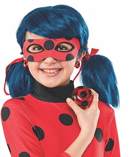 Ladybug Miraculous Costume (Rubie's Costume Miraculous Ladybug Yo-Yo and Clip-On Earrings)
