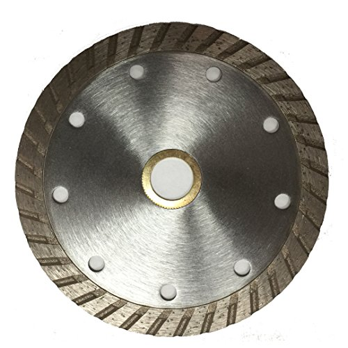 10-Pack DPT 4-1-2- Inch Diamond Saw Blade Wet/ Dry Turbo for Cutting Tile, Ceramic, Granite, Concret, Bricks, Stone, and Masonry Materials, Super Plus Quality (Diamond Blade Dry Plus)