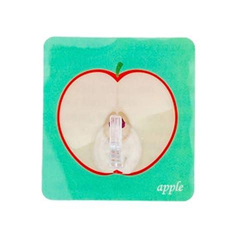 TOPBATHY - Gancho de Pared Adhesivo Modelo Fruta de Resina ...
