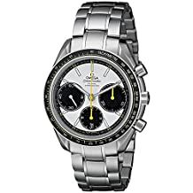 Omega Speedmaster Racing Co-Axial White Dial Stainless Steel Mens Watch 32630405004001
