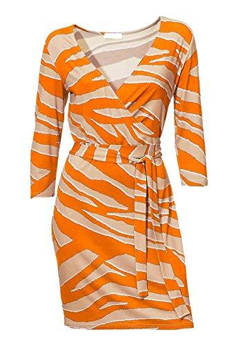 Heine - Best Connections Damen-Kleid Kleid Mehrfarbig Größe 44
