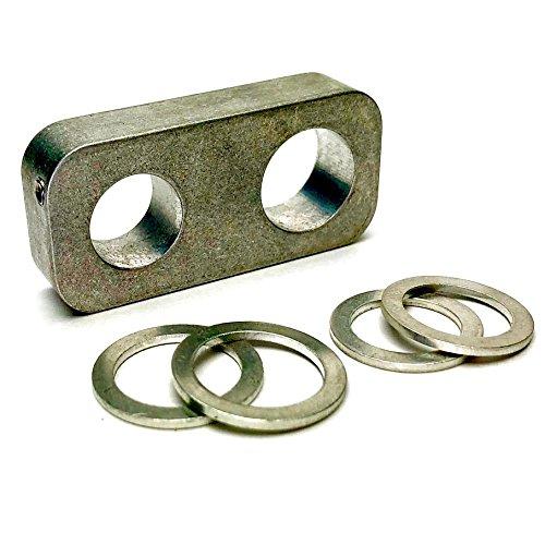 Aluminum BMW Power Steering Delete Kit E30, E36, 316, 318, 325, M3 Rack Plate Block (Rack E30)