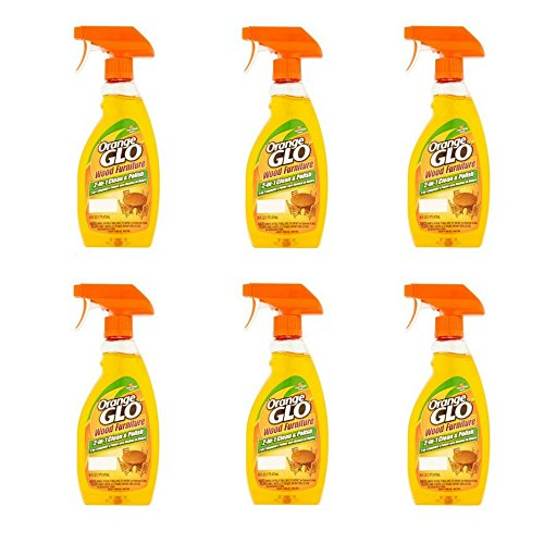 Orange Glo 2-in-1 Clean & Polish Wood Furniture Spray - 16 oz - 6 pk (Kit Shower Valencia)