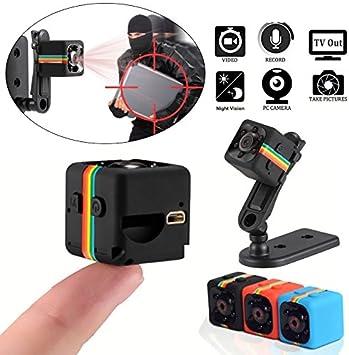 Mini Spy Hidden Camera 1080P IR Night Vision DVR Security Audio Video Recorder