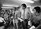 Presidential Campaign 1972 Nfrank Mankiewicz (At Microphone) Political Director For The Presidential Campaign Of Senator George Mcgovern Of South Dakota Speaking At A Press Conference In Washington DC