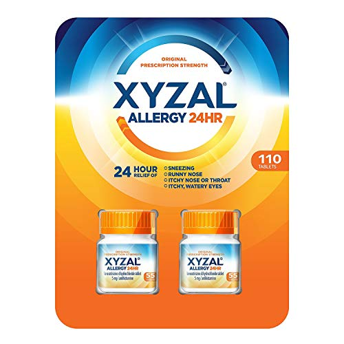(XYZAL Allergy 24 Hour Tablets, 110 Count)