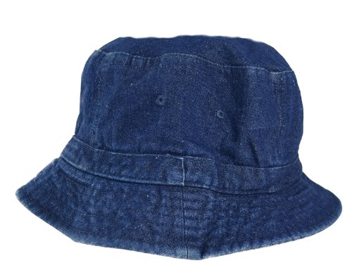 Denim Bucket Hat for (Cobra Caps Cotton Headband)