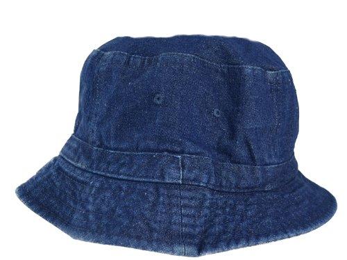Denim Bucket Hat for Adults Small Medium