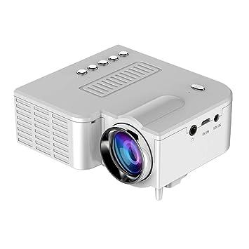 motuna Mini Proyector LED Portátil 1080P Multimedia Cine ...