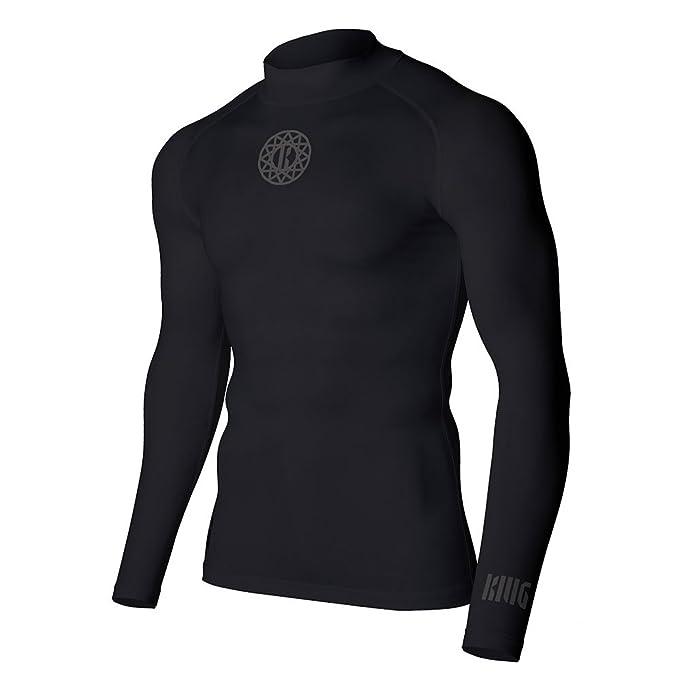 KMG Men's Premium Compression Baselayer T Shirts (Flatlock