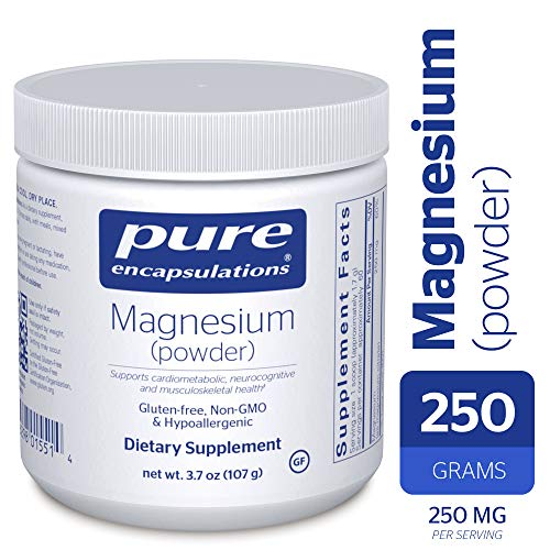 Pure Encapsulations - Magnesium (Powder) - Supports Cardiovascular Function, Muscle Function, Mood and Calming - 107 Grams