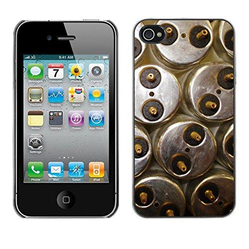 Premio Sottile Slim Cassa Custodia Case Cover Shell // F00008083 ampoule floursecent // Apple iPhone 4 4S 4G