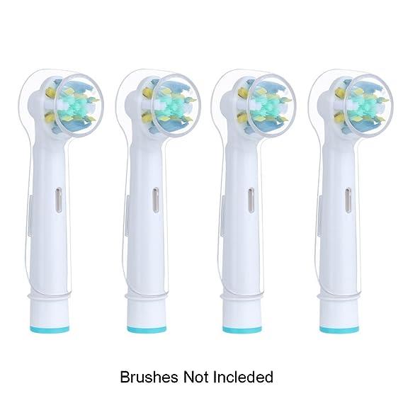 FOURCHEN portátil Estuche de Viaje Cepillo de Dientes eléctrico de plástico de Repuesto para Oral-B Pro Serie (Toothbrush Head Cover): Amazon.es: Hogar