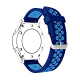 Watch Strap, BTChoice 20mm Quick Release Soft Silicone Sport Watch Replacement Strap Wristband for Samsung Gear Sport / Gear S2 / Ticwatch 2 / Moto 360 For Men 2nd Gen 42mm