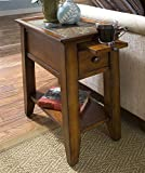 Riverside Furniture Andorra 20 in. Chairside Table For Sale