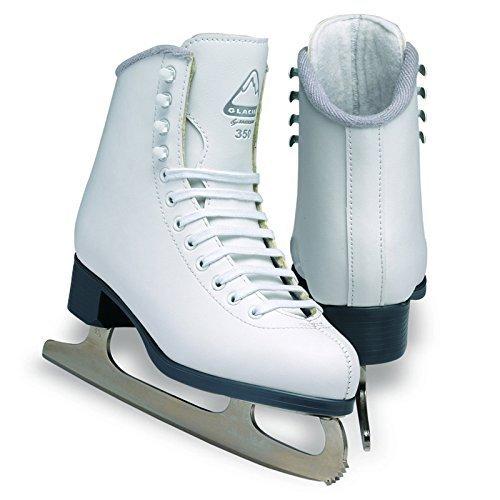 Jackson Ultima Glacier GS351 White Kids Ice Skates, Size (Ice Skates Size 12 Kids)