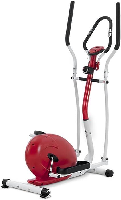 Novohogar Bicicleta Elíptica Newpower con Sistema Magnético, Pantalla LCD, Función SCAN y Pulsometro en el Manillar: Amazon.es: Deportes y aire libre