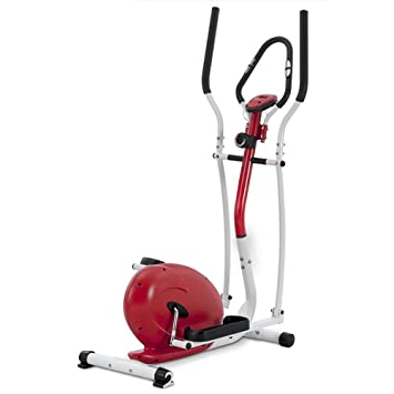 Novohogar Bicicleta elíptica Newpower con Sistema magnético, Pantalla LCD, función SCAN y medición del