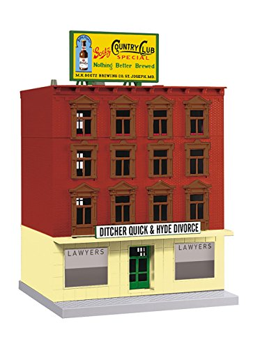 MTH 30–90557Ditcherクイック& Hyde離婚弁護士4-story建物