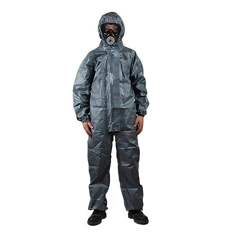 GZYF Ropa Protectora Ropa de protección química con Capucha ...