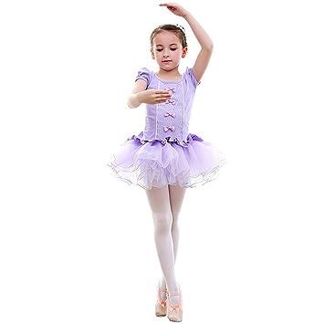 08cdfba6f248f バレエ レオタード 子供 新体操 キッズ 半袖 子供用バレエ レオタード ダンスウェア ふわふわ バレエ用品