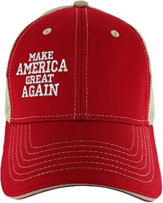 Make America Great Again Hat - Donald Trump Campaign Baseball Hat Variations - USA.