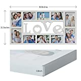 Collage Picture Frame Plastic Love Wall Hanging