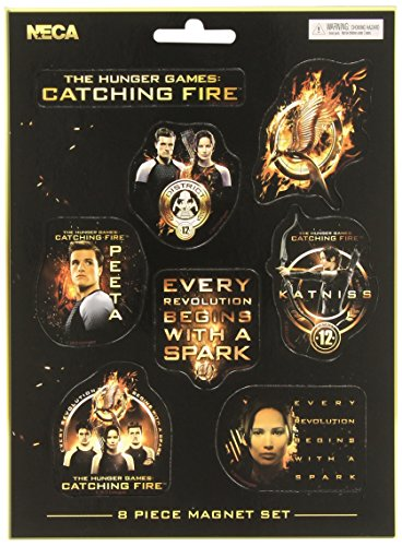 The Hunger Games Catching Fire Assorted Magnet Set (8 Pieces) -