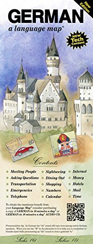 GERMAN a language map: Quick reference phrase guide for beginning and advanced use.  Words and phrases in English, German, and phonetics for easy ... Publisher: Bilingual Books, Inc. ()