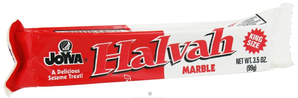 Joyva Marble Halvah Bars King Size - 3.5oz - 20 Pack