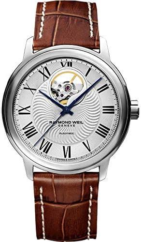 【国内正規品】 RAYMOND WEIL レイモンド・ウェイル マエストロ MAESTRO メンズ 腕時計 自動巻き オープンワーク 2227-STC-00659-DB