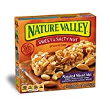 Nature Valley Granola Bars, Sweet and Salty Nut, Roasted Mixed Nut, 7.4 Ounce (Pack of 6)