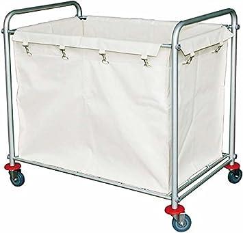 Ruedas para la ropa sucia de repuesto-Bolsa para ropa de lavandería carrito de lavandería: Amazon.es: Hogar