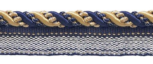 Medium Gold, Navy Blue 4/16