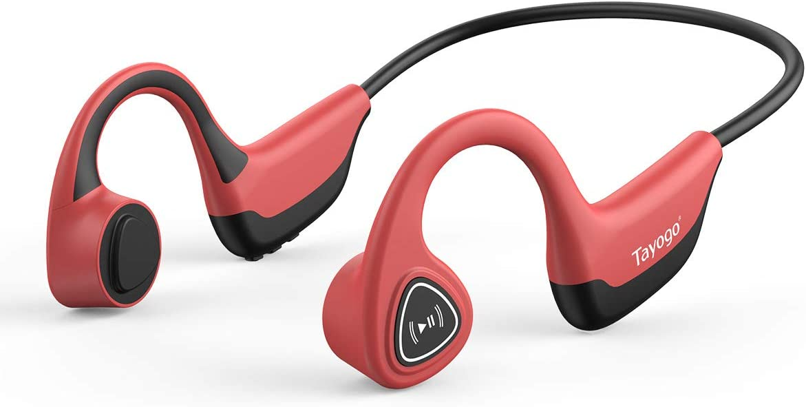 Open-Ear Bluetooth  Headphones For Biking  bone conduction is the best for the biking and best for the cycling
