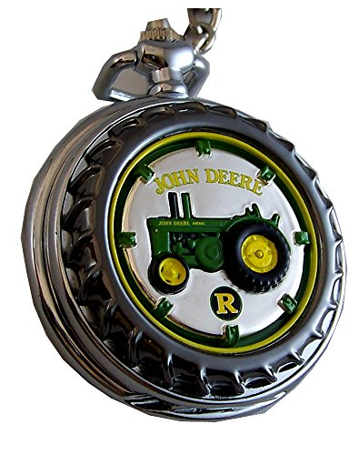Franklin Mint Tractors (John Deere Franklin Mint Pocket Watch Model R Tractor LE, New)