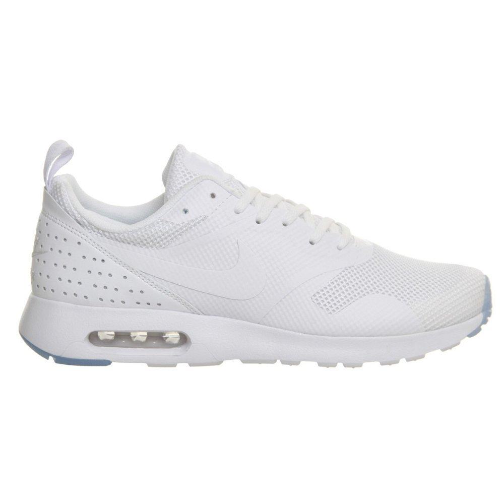 Nike Herren Air Max Tavas Low-Top  46 EU|WHITE/WHITE-WHITE