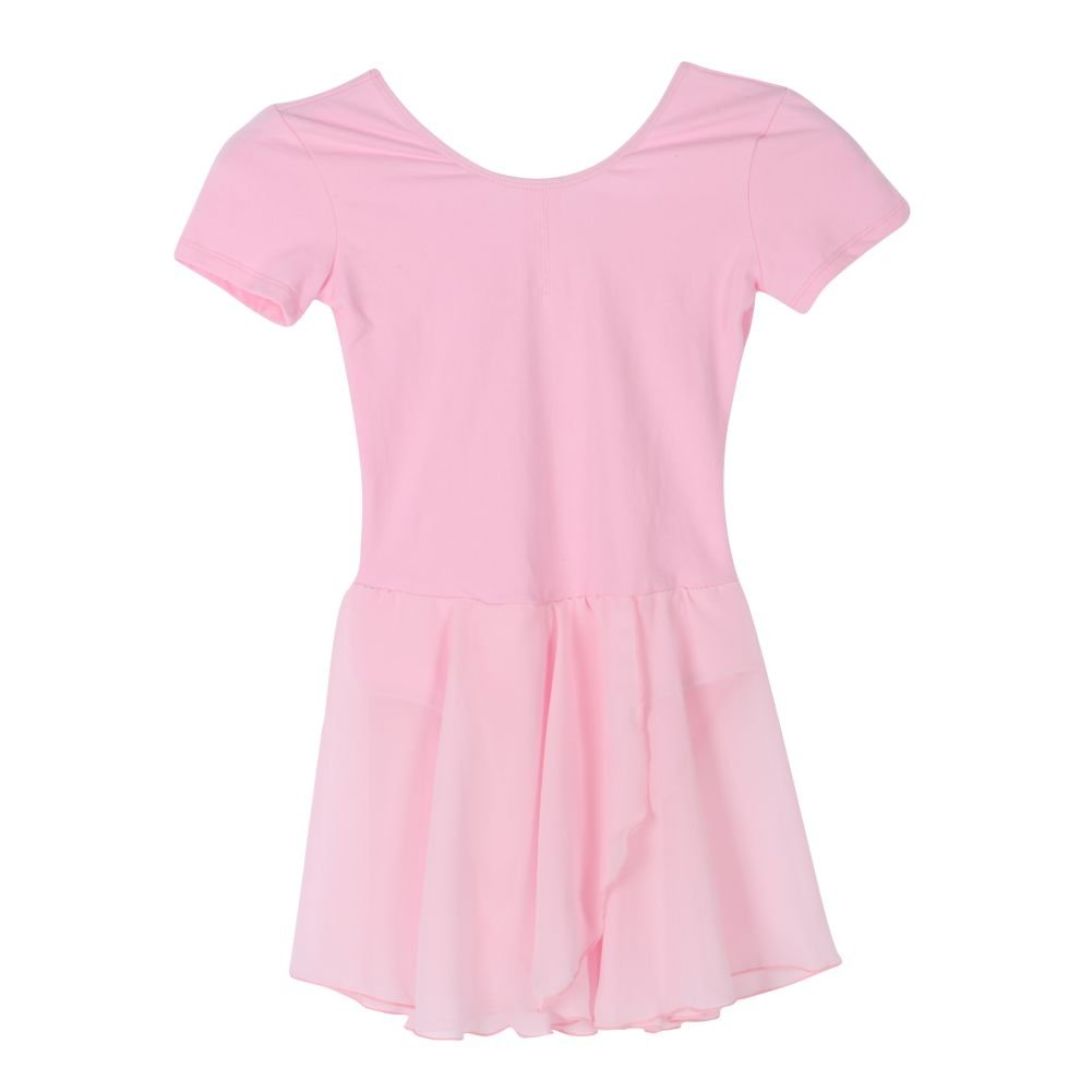Jlong Baby Girls Chiffon Leotard Ballet Dance Dress Gymnastics Skating Dancewear