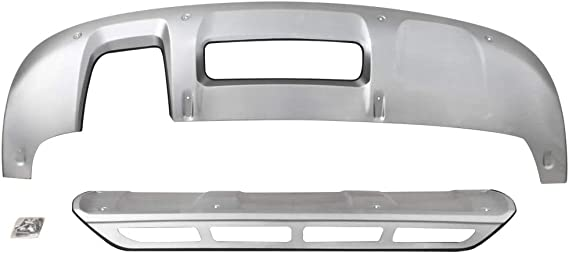 VZ4X4 Skid Plate Front and Rear Fit for Audi Q3 2016 2017 2018 2019