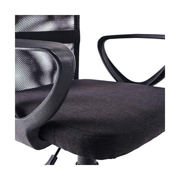 Exofcer Chaise de Bureau Chaise de Bureau Chaise d'ordinateur Chaise pivotante avec Dossier en Maille Chaise pivotante…