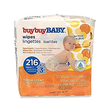 buybuy BABY 3-Pack 72-Count Wipes in Fresh Scent