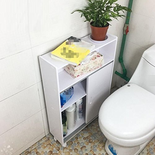 GL&G Bathroom Furniture Shelf Landing WC Waterproof storage rack Toilet side cabinet storage cabinets by GAOLIGUO