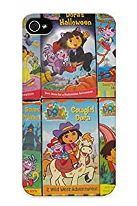 Cgfduu-1309-ihujczp Premium Dora The Explorer 6 Vh Video Nick Back Cover Snap On Case For Iphone 4/4s